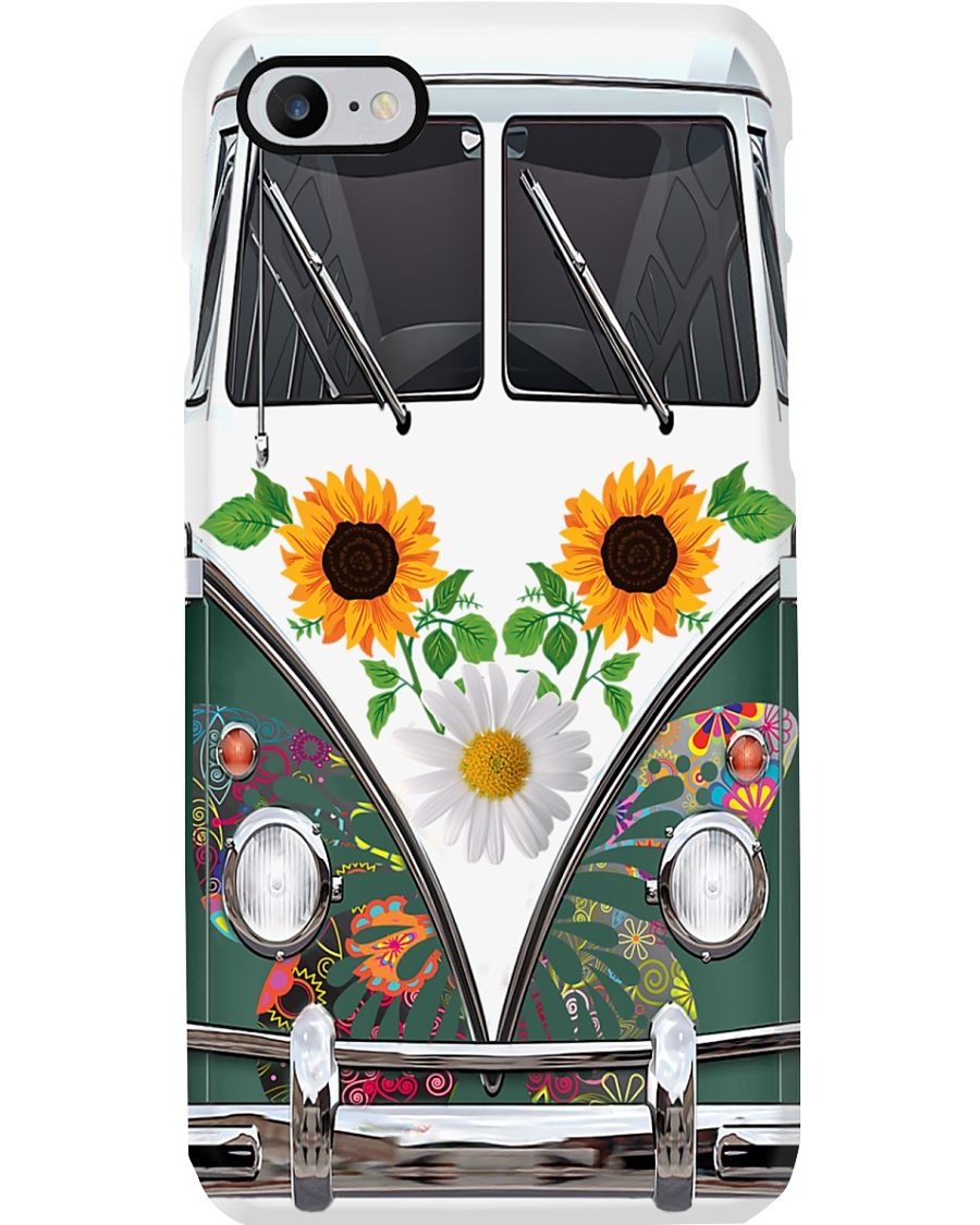 Sunflower VW Bug Phone Case