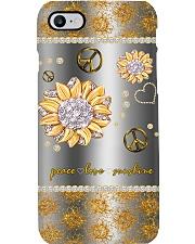 Peace Love Sunshine Phone Case i-phone-8-case