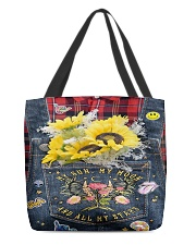 Sunflower Hippie All-over Tote thumbnail