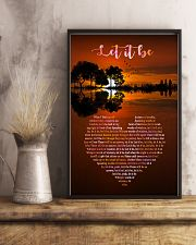 Let It Be 11x17 Poster lifestyle-poster-3