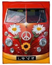 "Bus Love Small Fleece Blanket - 30"" x 40"" thumbnail"