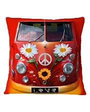 Bus Love Square Pillowcase thumbnail