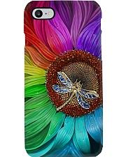 Sunflower - Dragonfly Phone Case i-phone-8-case