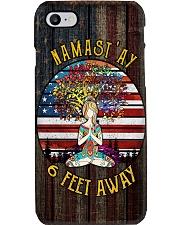 NAMAST'AY 6 FEET AWAY Phone Case i-phone-8-case