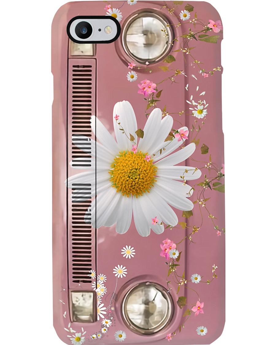 Daisy Vw Bus Phone Case