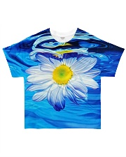 Hippie Daisy All-over T-Shirt front