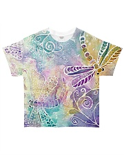 Dragonflies All-over T-Shirt front