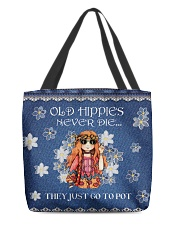 Old Hippies All-over Tote thumbnail