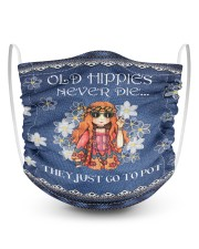 Old Hippies 2 Layer Kids Face Mask - Single thumbnail