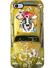 Hippie VW Bug Cow Phone Case i-phone-8-case