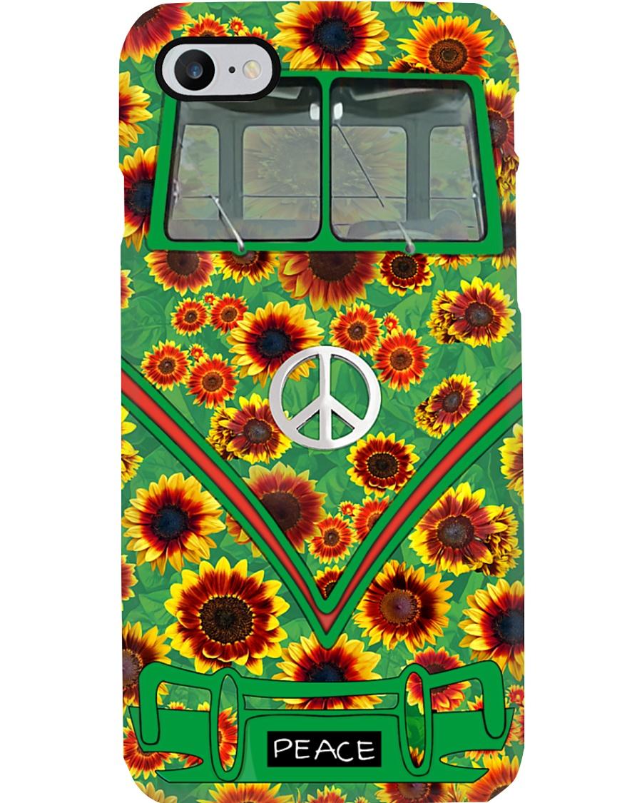 Bus Sunflower Phone Case