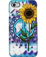 Sunflower Mandala Phone Case i-phone-7-case