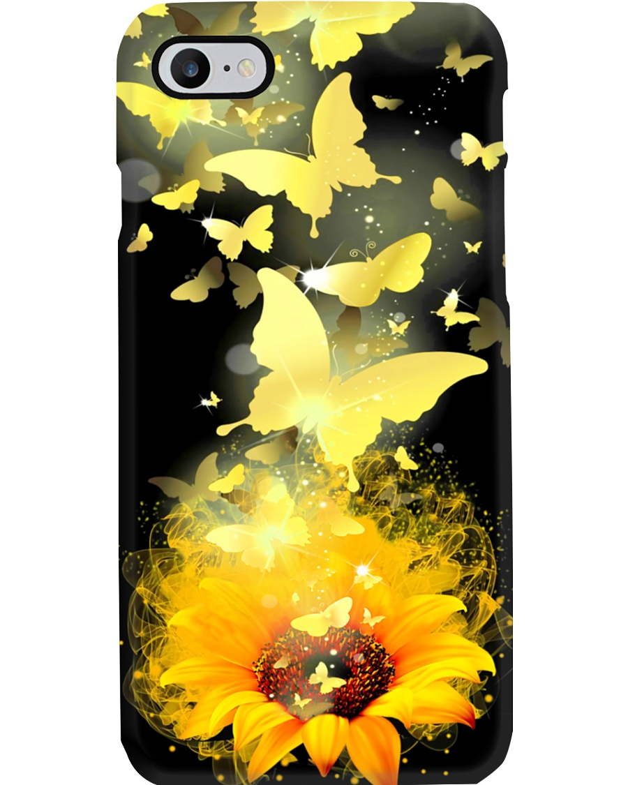 Sunflower Butterfly Phone Case