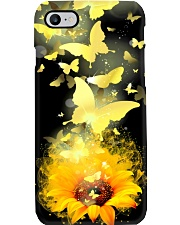 Sunflower Butterfly Phone Case i-phone-7-case