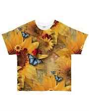 Sunflower - Butterfly All-over T-Shirt thumbnail