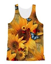 Sunflower - Butterfly All-over Unisex Tank thumbnail