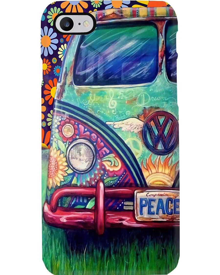 Peace Love - VW Bus Phone Case