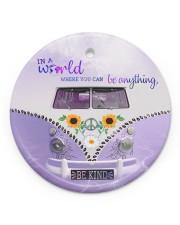 Be Kind Circle ornament - single (porcelain) thumbnail