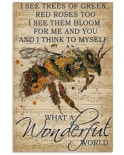What A Wonderfull World 11x17 Poster front