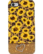 Sunflower Love Phone Case i-phone-7-case