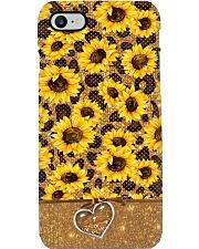 Sunflower Love Phone Case i-phone-8-case
