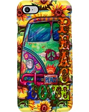 Hippie Peace Love Phone Case i-phone-7-case