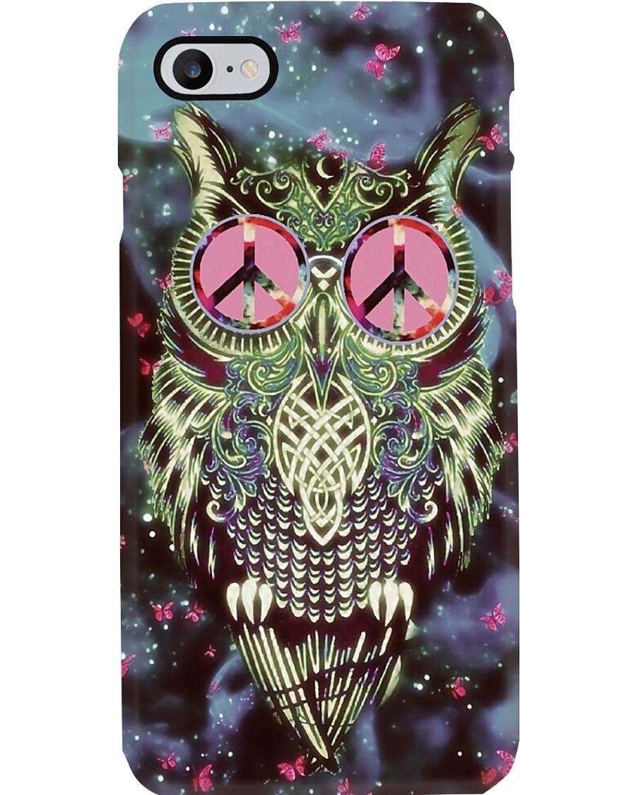Hippie owl Phone Case
