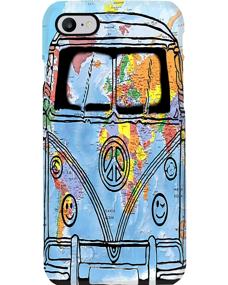 Bus Peace Phone Case