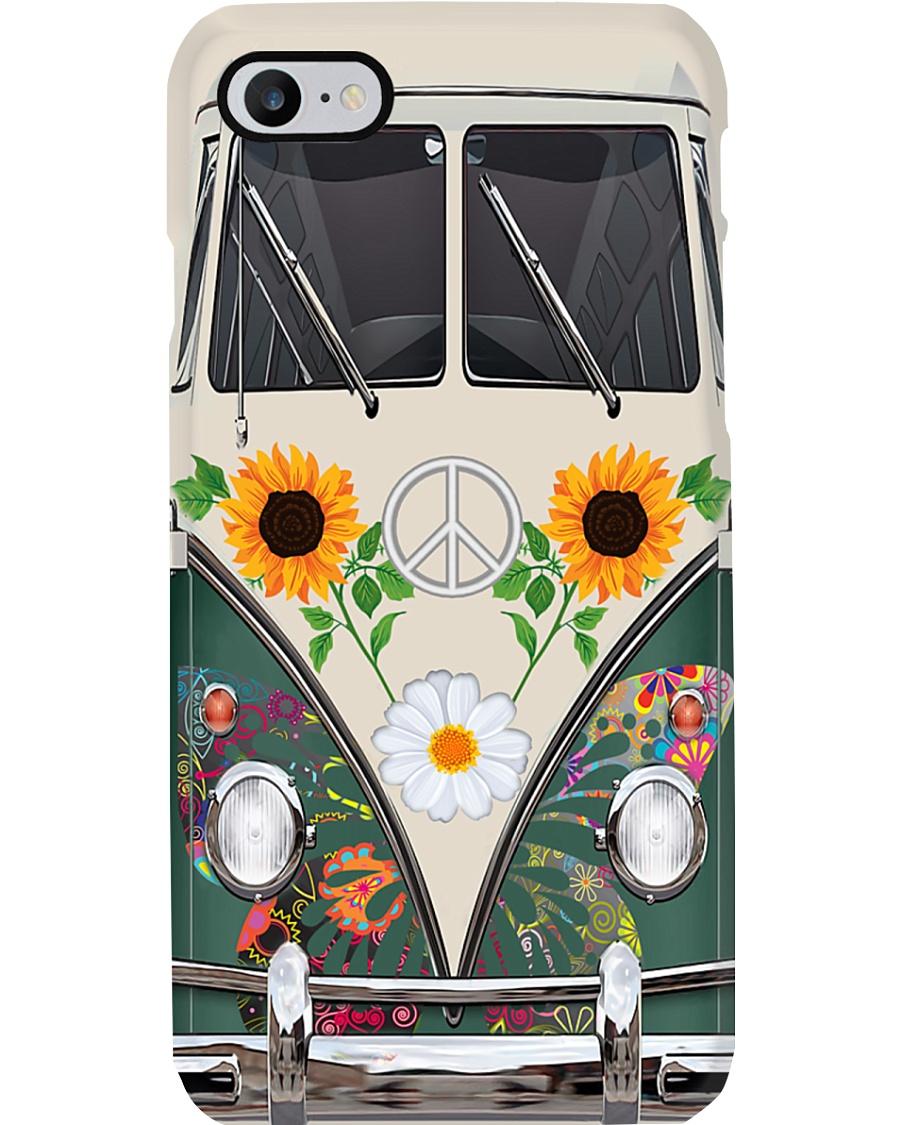 Sunflower VW Bus Phone Case