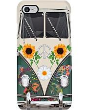 Sunflower VW Bus Phone Case i-phone-8-case