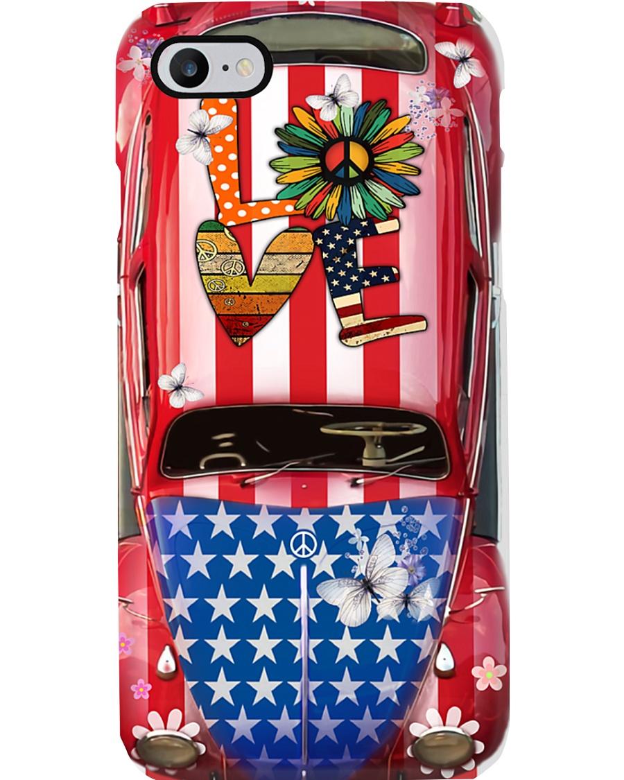 Love - VW Bug Phone Case
