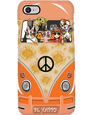 A Girl And Her Animals Living Life In Peace Phone Case i-phone-8-case