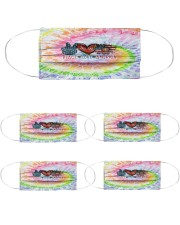 Peace Love American Cloth Face Mask - 5 Pack thumbnail