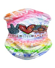 Peace Love American Neck Gaiter thumbnail