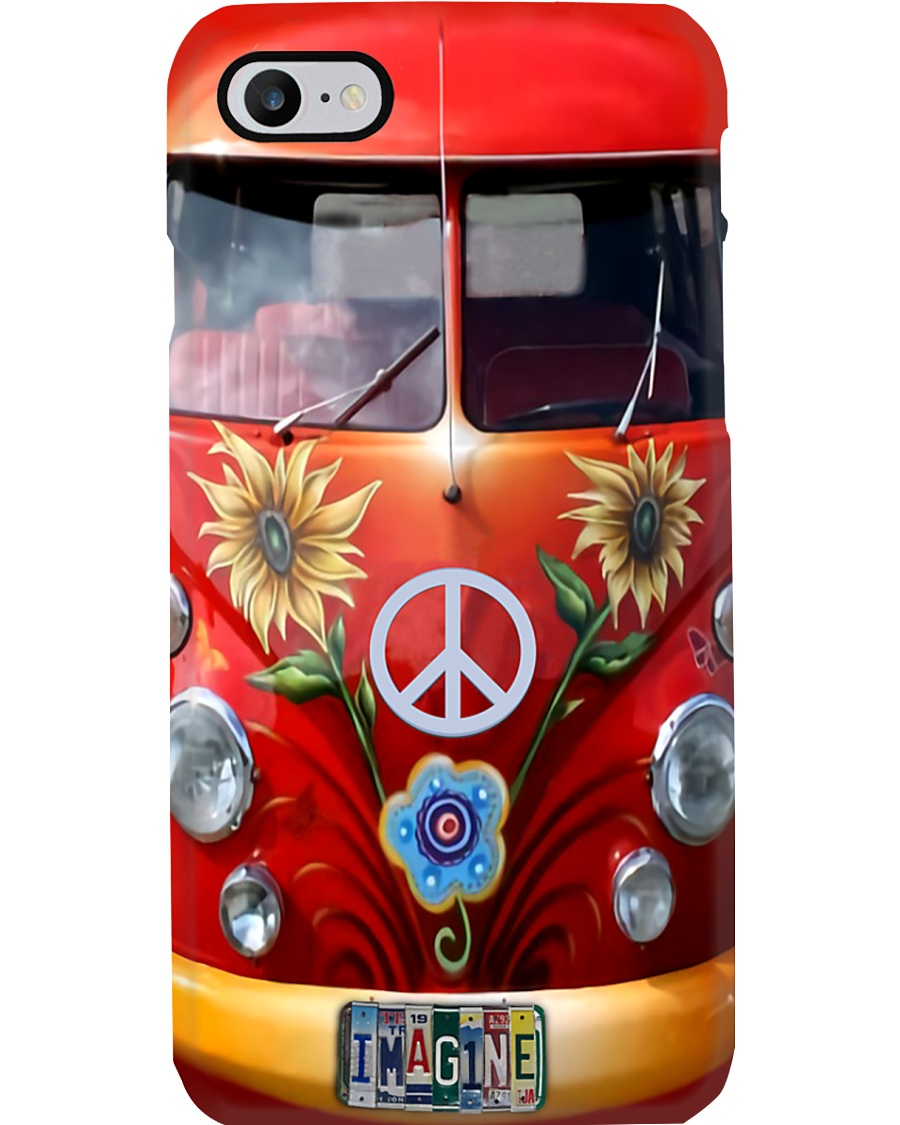 Imagine - Vw Bus Phone Case