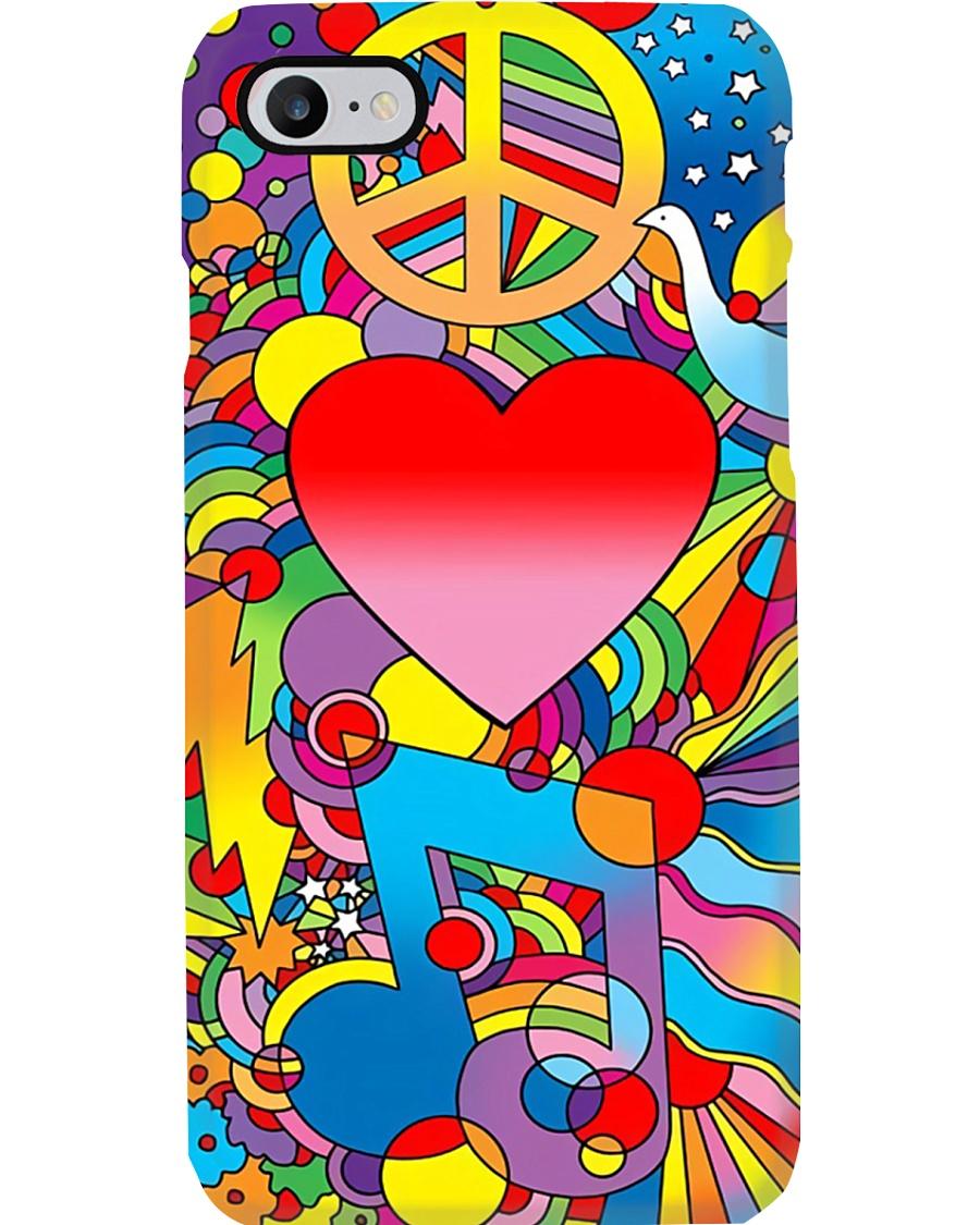 Peace Love Music Phone Case