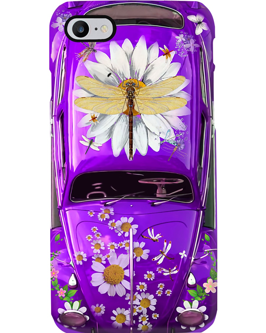 Dragonfly VW Bug Phone Case