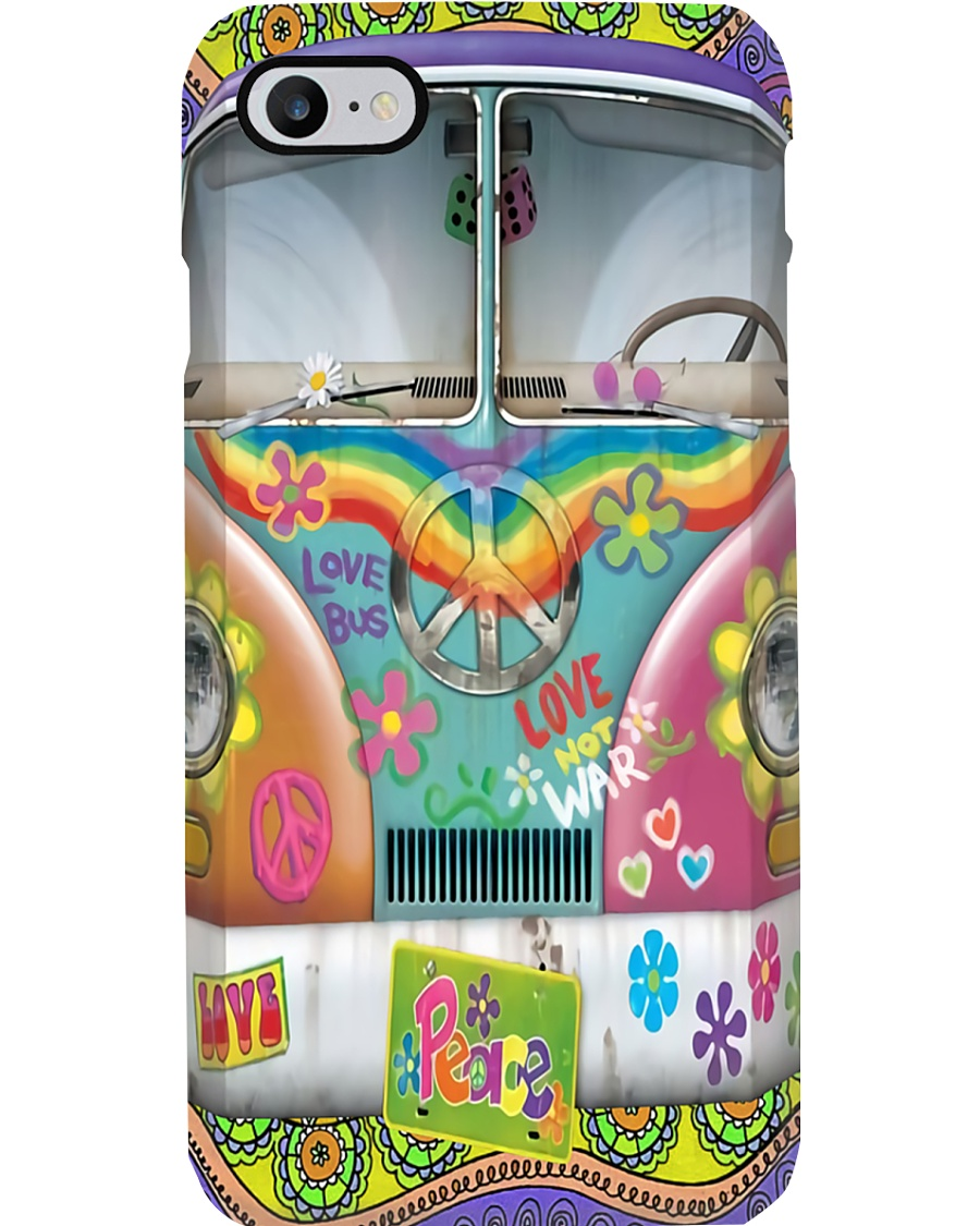 VW Bus Peace Phone Case
