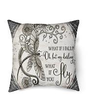 "Dragonfly Indoor Pillow - 16"" x 16"" thumbnail"