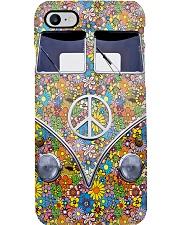 Hippie Girl - Vw Bus Phone Case i-phone-7-case