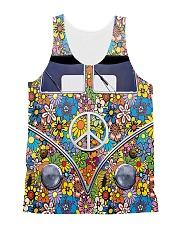 Hippie Girl - Vw Bus All-over Unisex Tank thumbnail