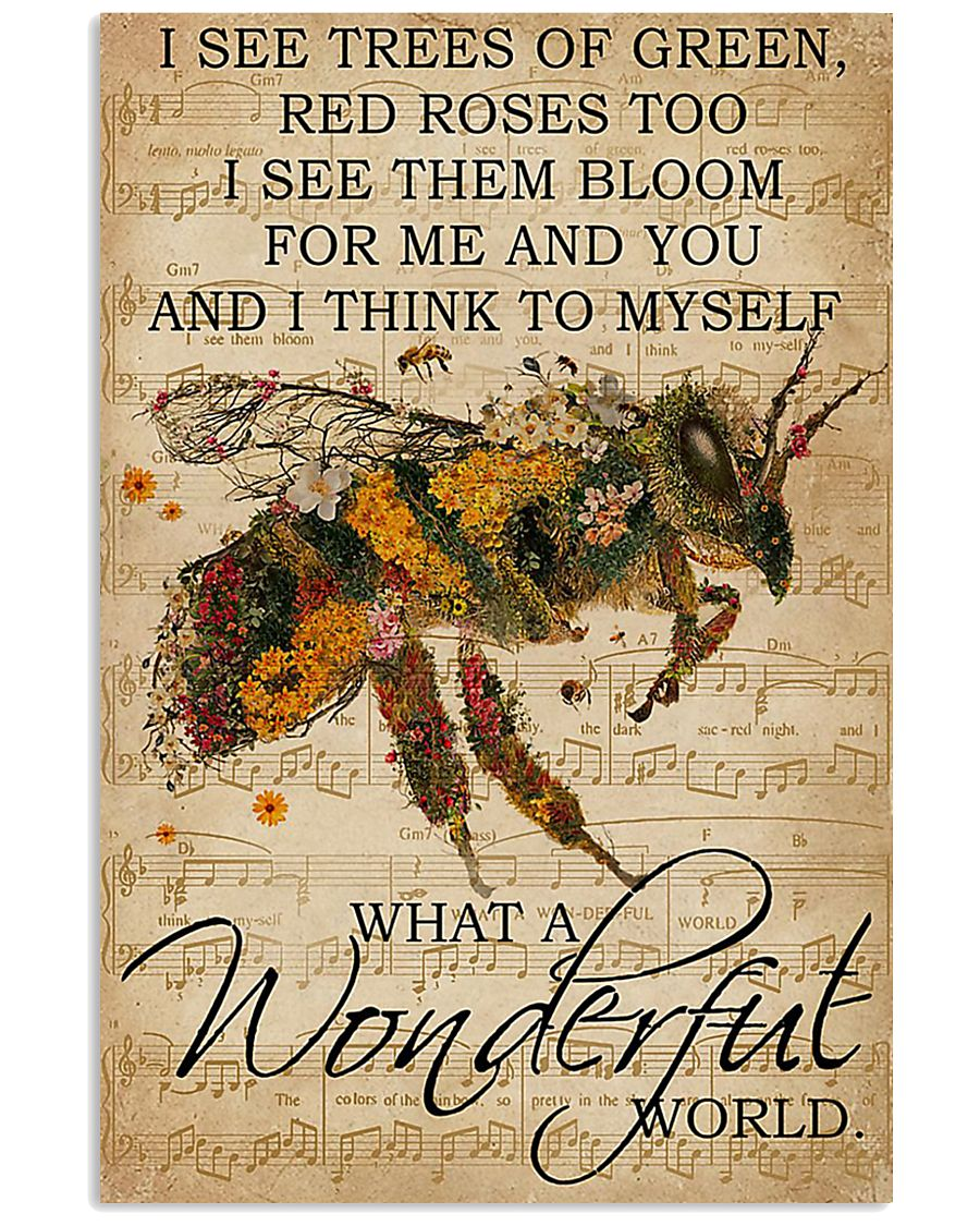 Bee Lover 11x17 Poster