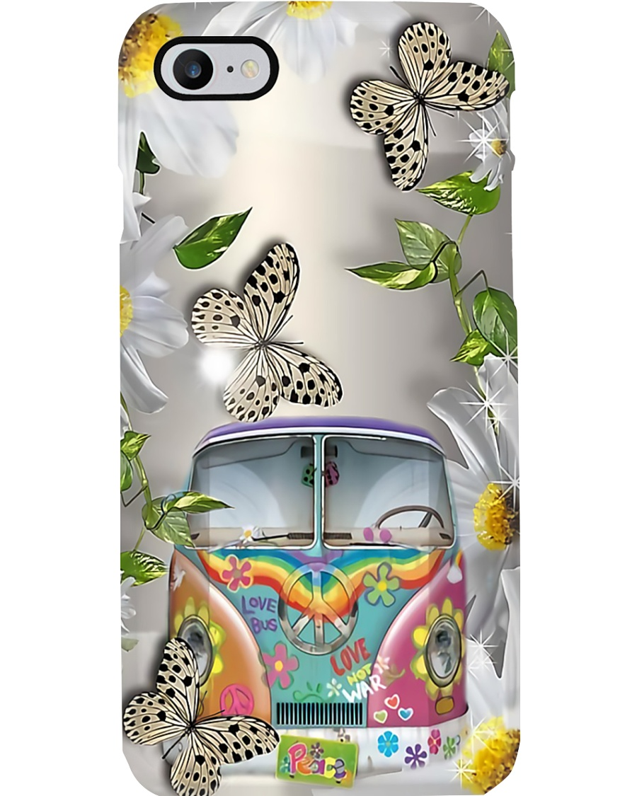 Butterfly Bus Phone Case
