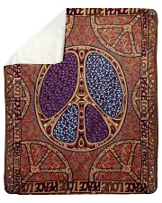 "Peace Art Sherpa Fleece Blanket - 50"" x 60"" thumbnail"
