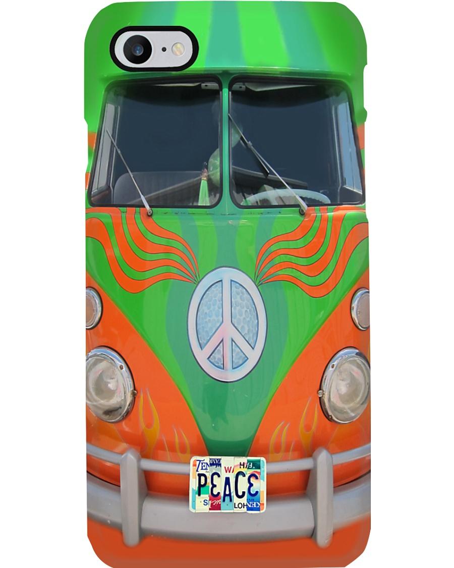 Hippie VW Bug Peace Phone Case