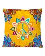 Peace Love Square Pillowcase thumbnail