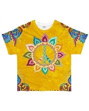 Peace Love All-over T-Shirt thumbnail