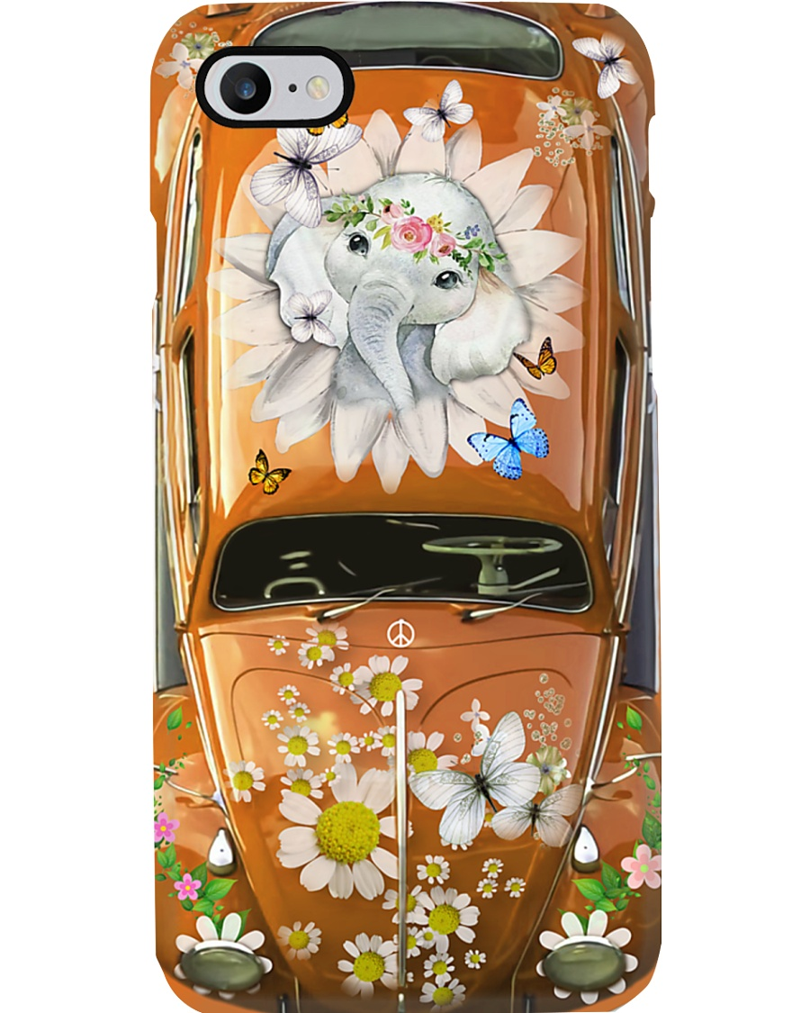 Elephant VW Bug Phone Case