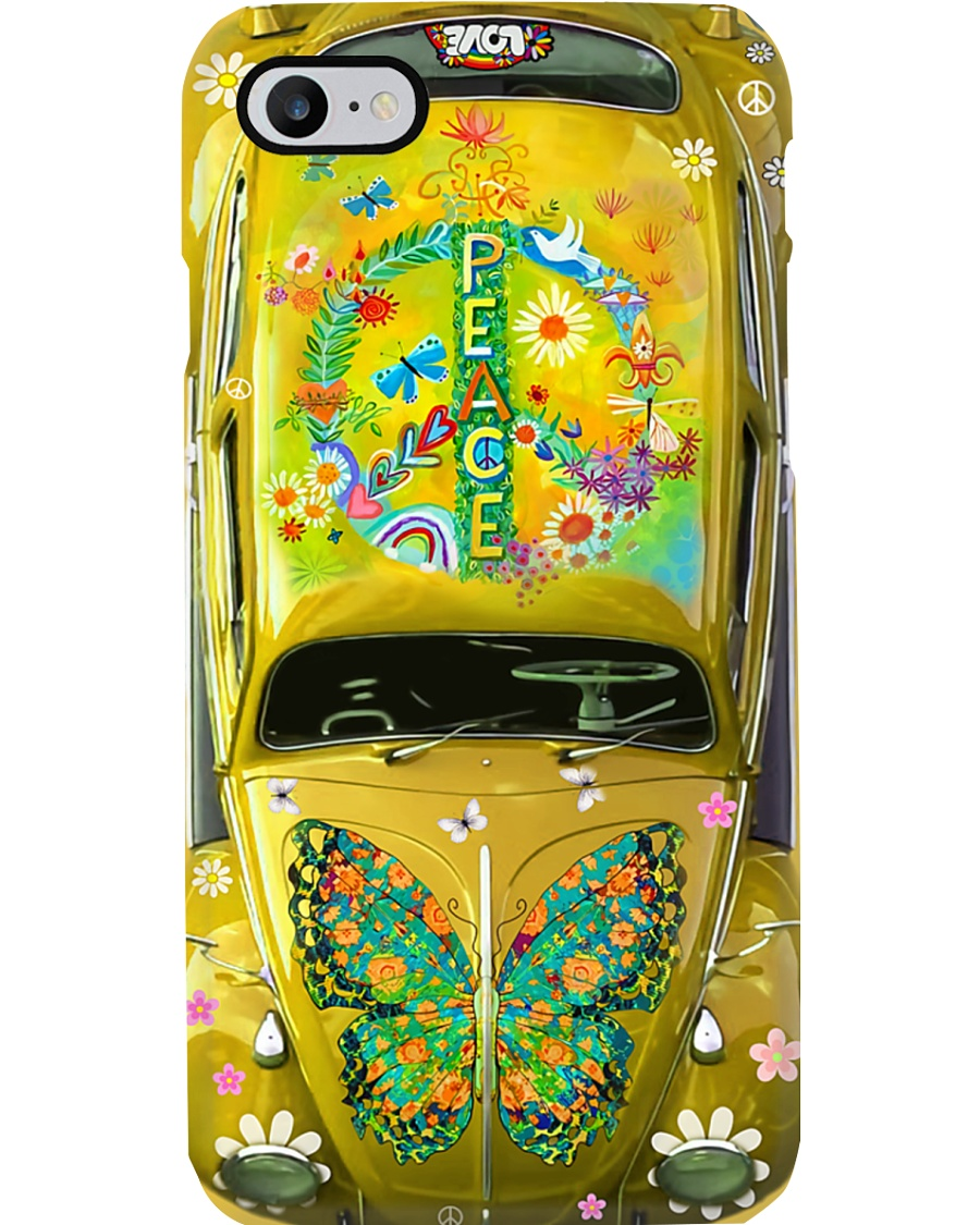 Hippie - Peace Phone Case
