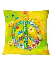 Hippie - Peace Square Pillowcase thumbnail